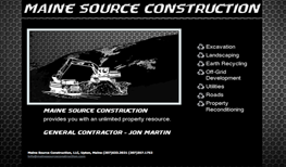 Maine Source Construction